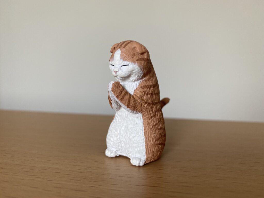 【真梨】合掌する猫