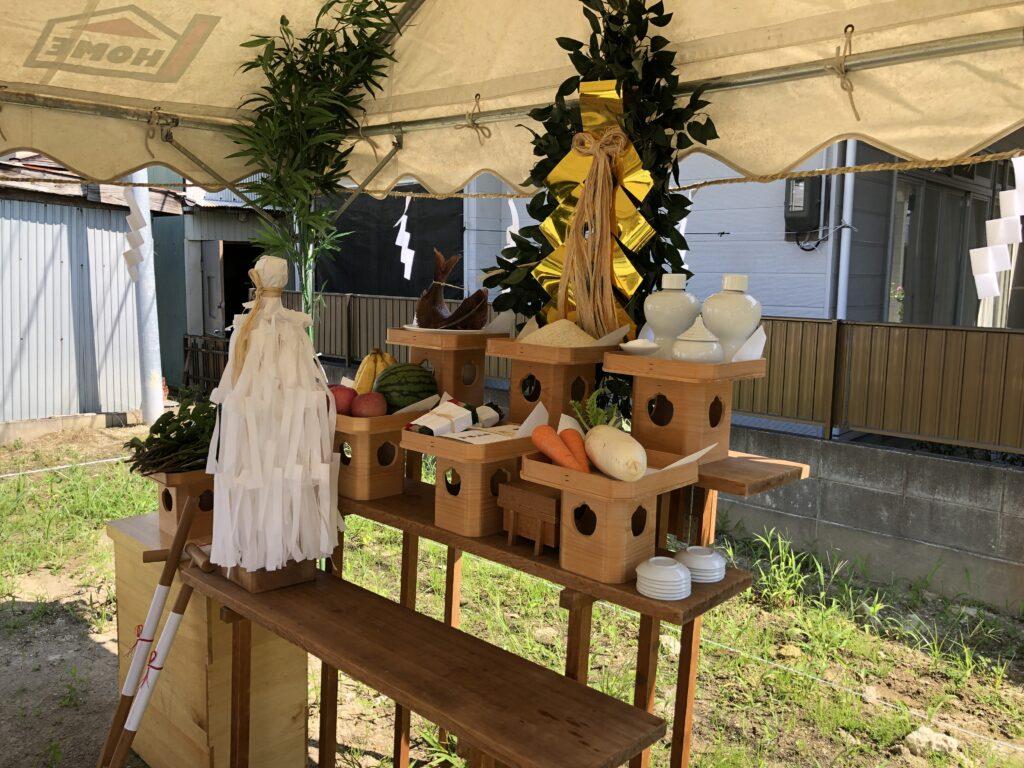 【玉川】地鎮祭