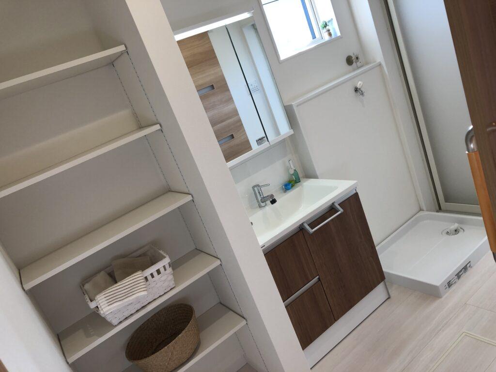 【達人】おすすめ間取り①広い脱衣室スペース