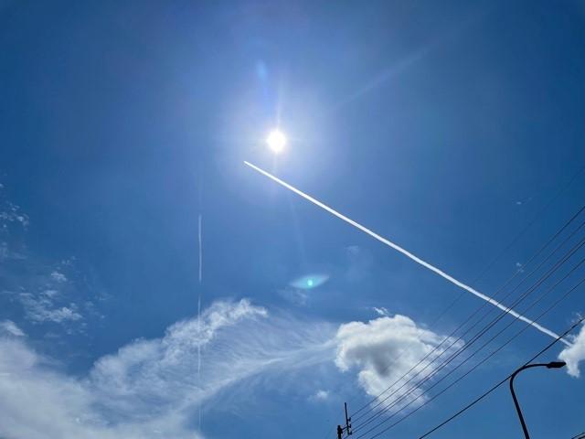 【達人】飛行機雲の謎