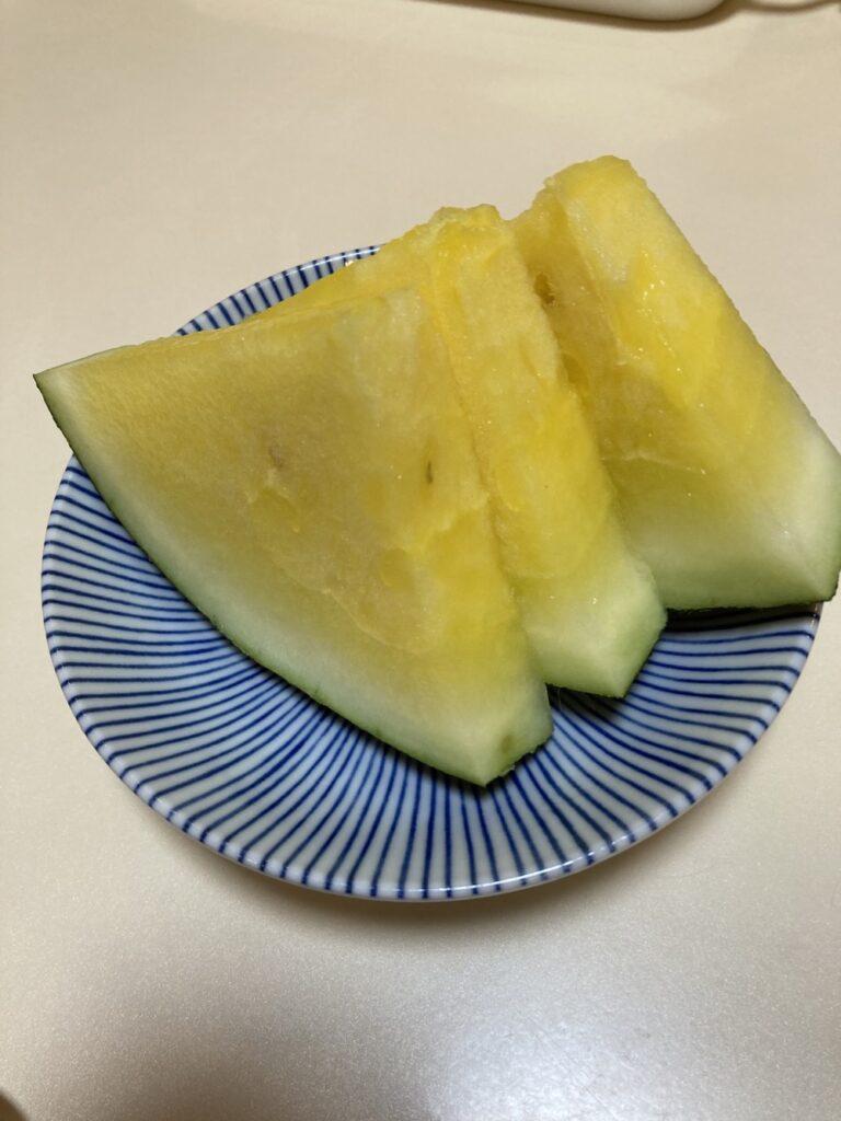 【真梨】黄色いスイカ